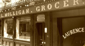 L. Mulligan. Grocer. - the home of the best Irish Coffee in Ireland