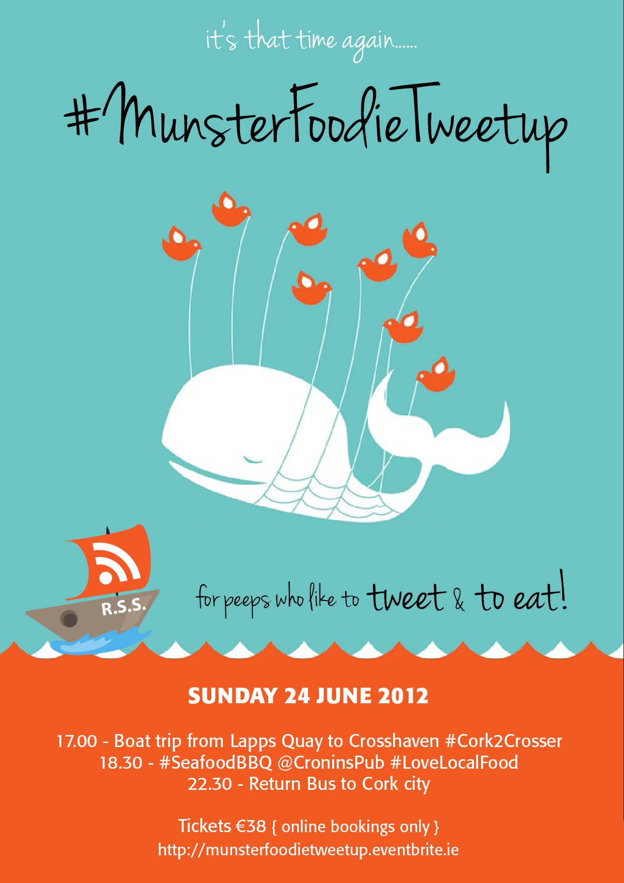 Munster Foodie Tweetup: Cronin's Pub for the next Tweetup
