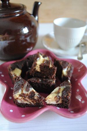 Chocolate Cheesecake Brownies