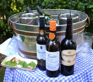 Cork Food Festival - sherry at Ballymaloe House