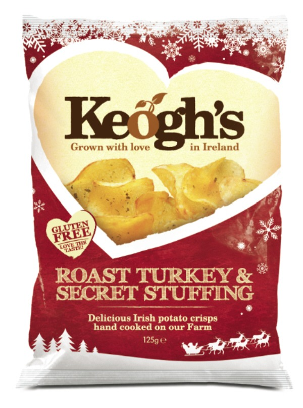 Keogh's Roast Turkey and Secret Stuffing crisps