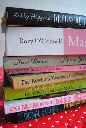 Irish cookbooks for Christmas 2013