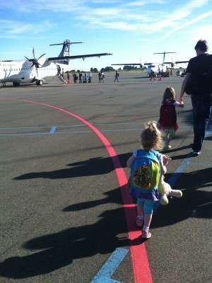Bibliocook.com - arriving at Nelson airport
