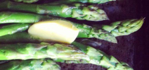 Bibliocook.com - asparagus, butter
