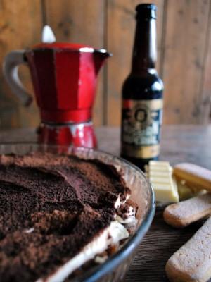 Bibliocook.com - White Chocolate and Imperial Stout Tiramisu