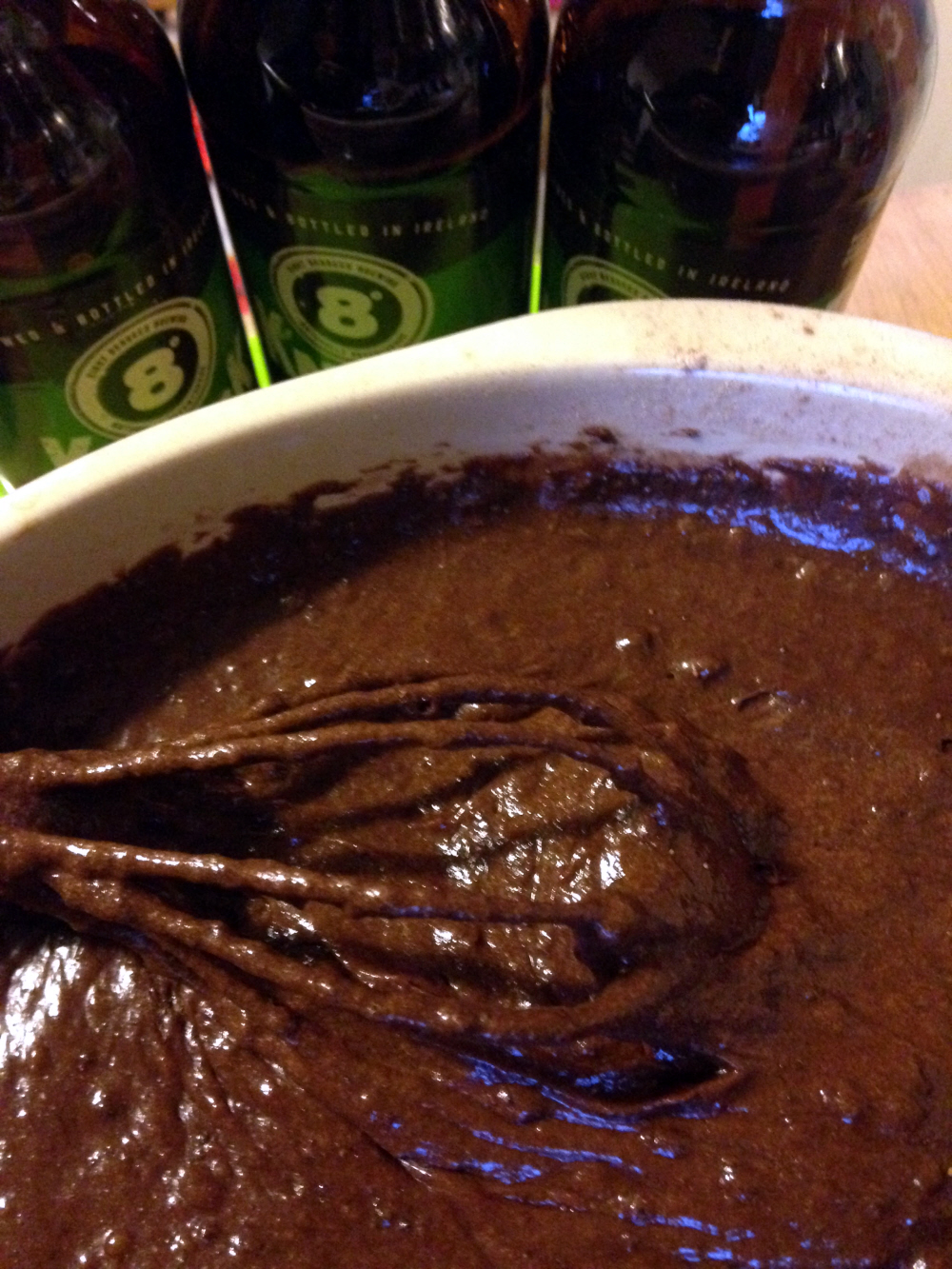 Double Chocolate Porter Brownies