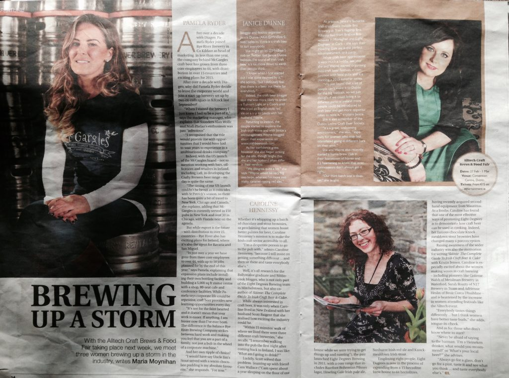 Irish Country Living - Brewing up a storm - 26 Feb 15
