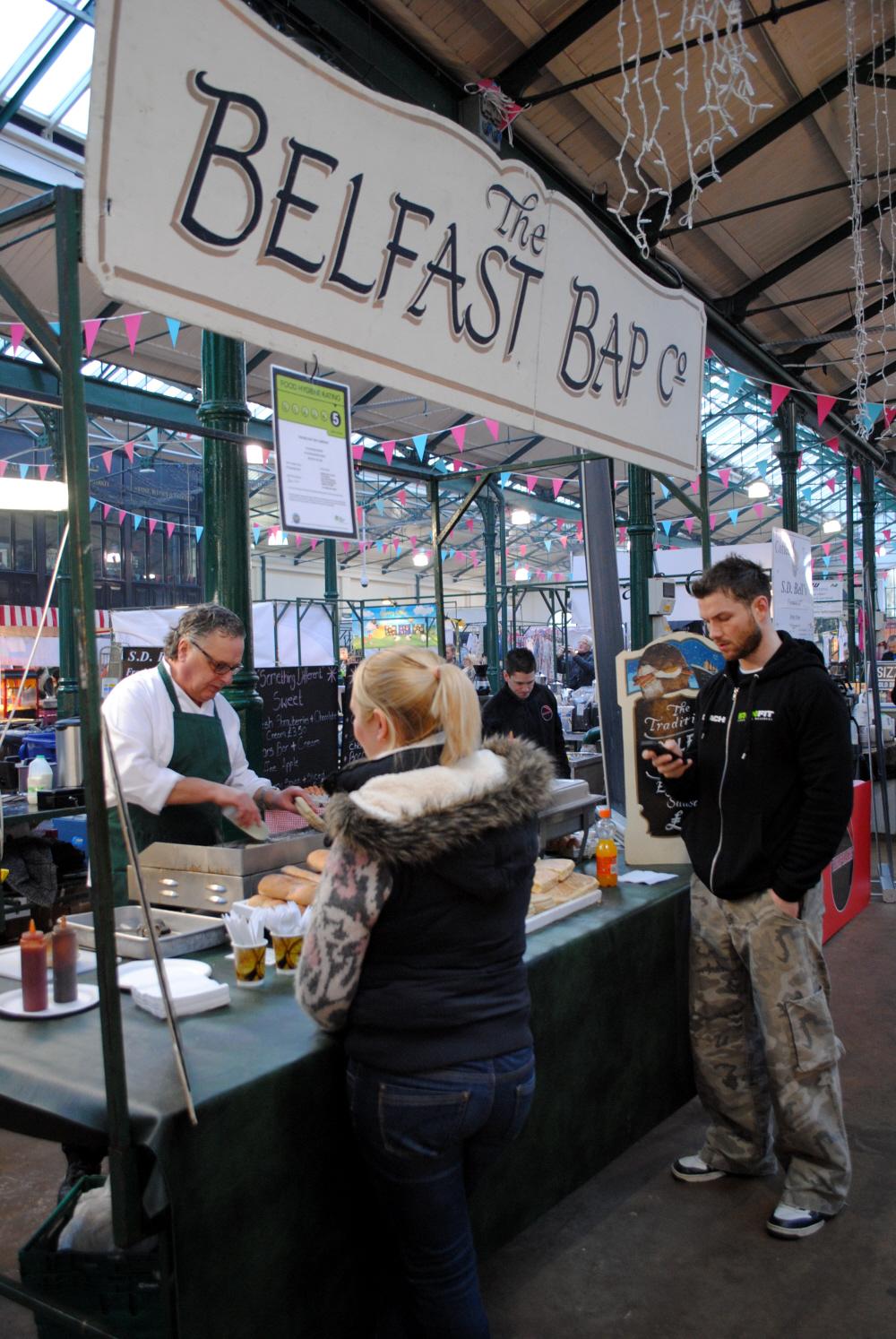 A Belfast Bap, anyone?