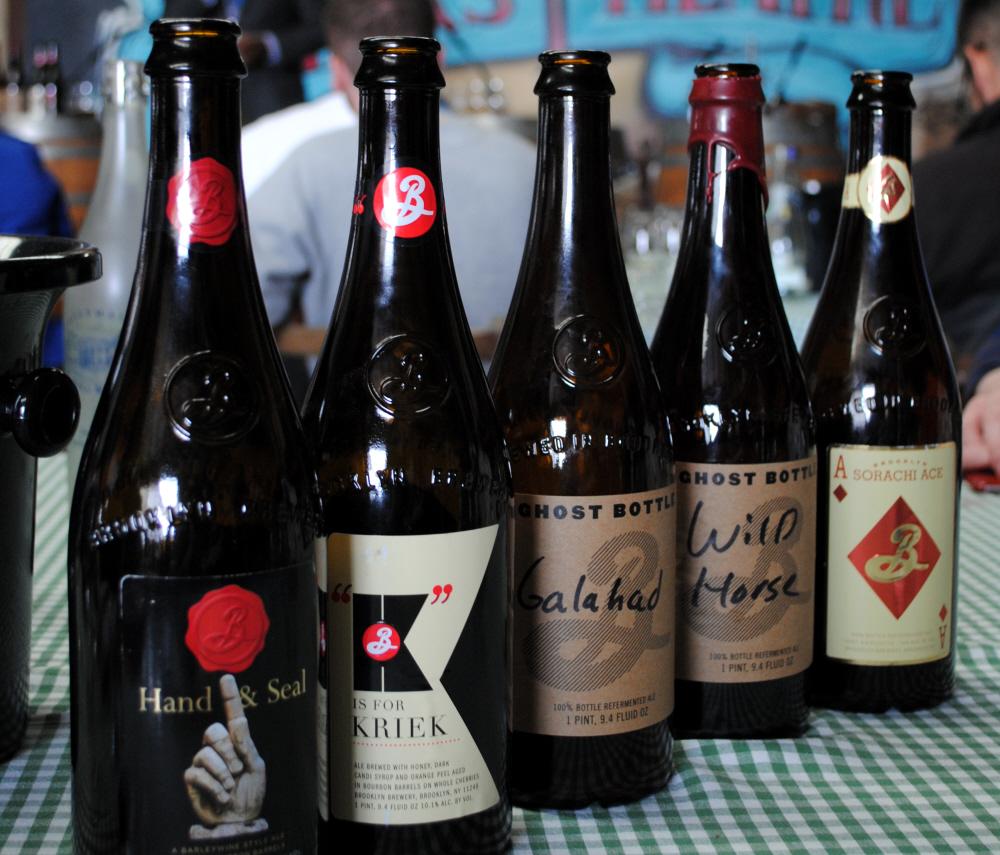 Bibliocook.com - Garrett Oliver at Ballymaloe Litfest - Brooklyn Brewery beers