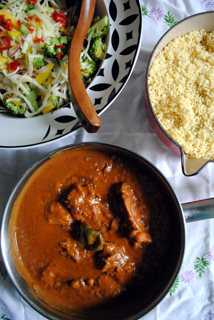 Bibliocook.com - The Groundnut Stew from The Groundnut Cookbook by Duval Timothy, Folayemi Brown and Jacob Fodio Todd.
