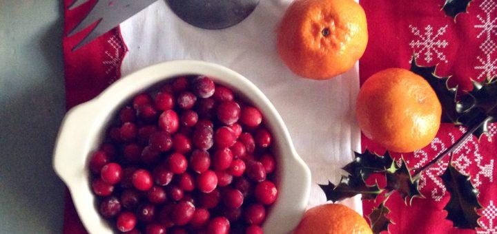 Bibliocook.com - Cranberry and orange sauce