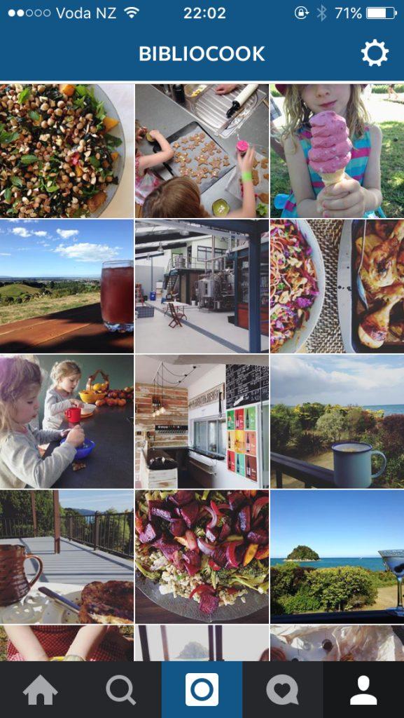Bibliocook.com - NZ on Instagram