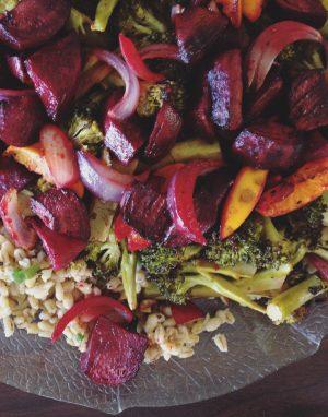Bibliocook.com - lemon barley roast veg salad - portraitBibliocook.com - lemon barley roast veg salad - portrait
