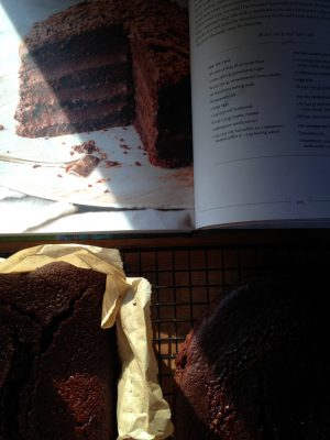 Bibliocook.com - The Farmette Cookbook - Rich Chocolate Buttermilk Cake