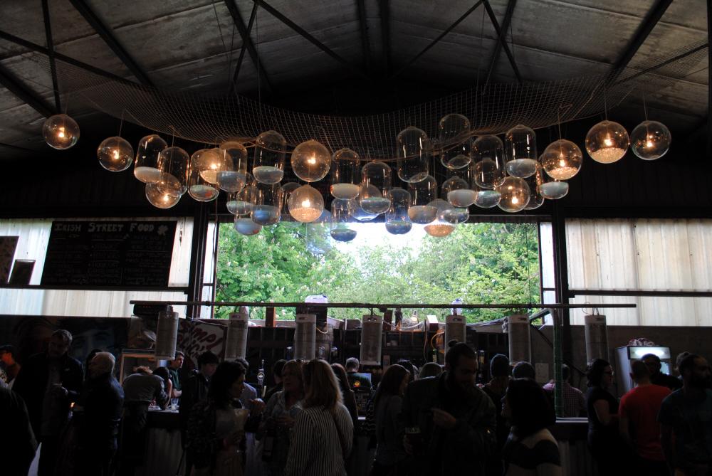 Bibliocook.com - Ballymaloe Litfest 2016 - big shed