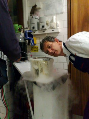 bibliocook-com-kevin-thornton-and-chris-watson-recording-foodtalk-for-newstalk-dry-ice
