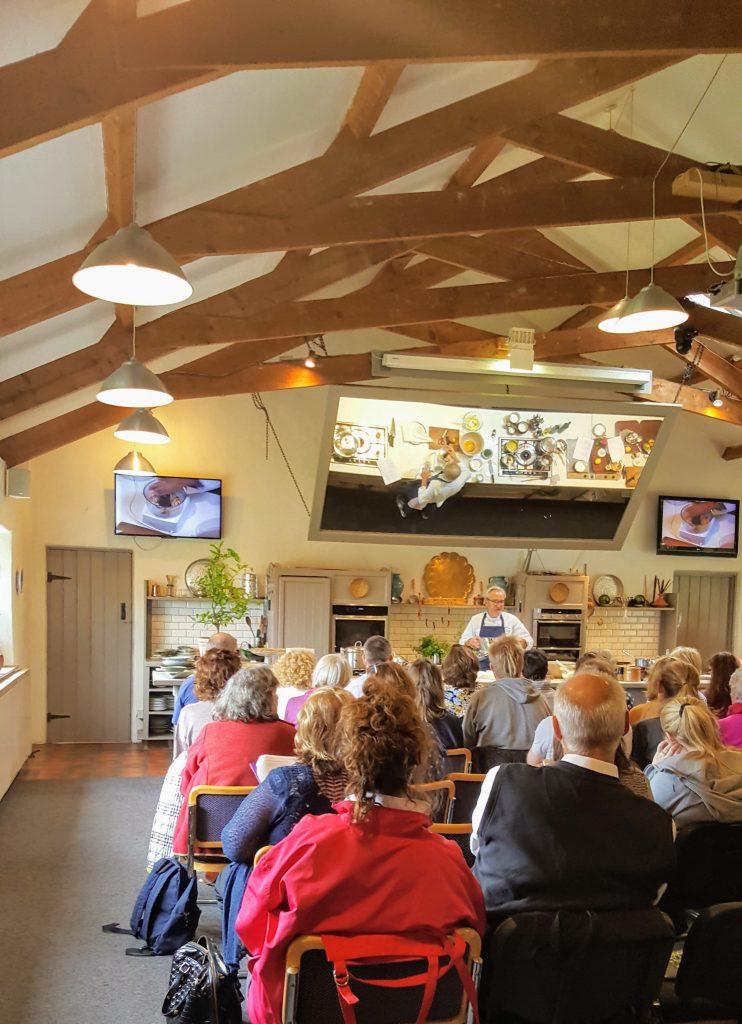 Bibliocook.com - Ballymaloe Cookery School 2017 - Rory O'Connell demo