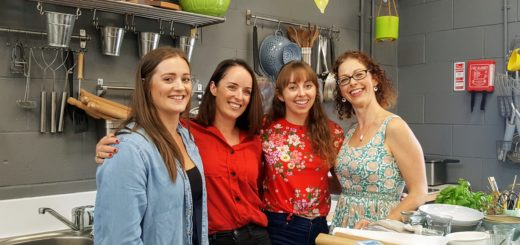 Food Styling and Photography Skills workshop with Sinead Delahunty – Delalicious, Frances Walsh – The Honest Project and Caroline Hennessy – Bibliocook and Sarah-Kim Watchorn.