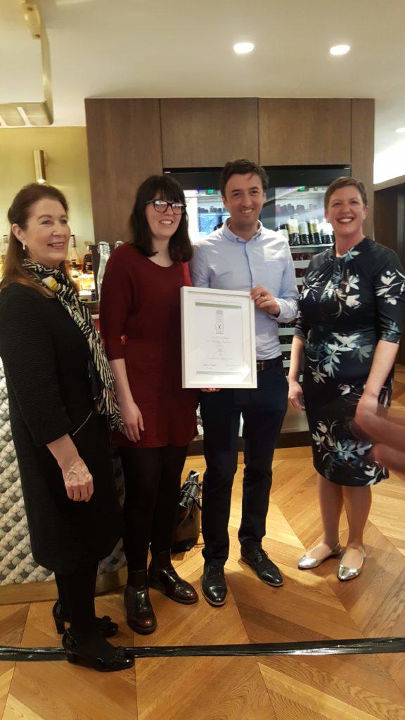 Bibliocook.com - Irish Food Writers' Guild Awards 2019 - 3fe