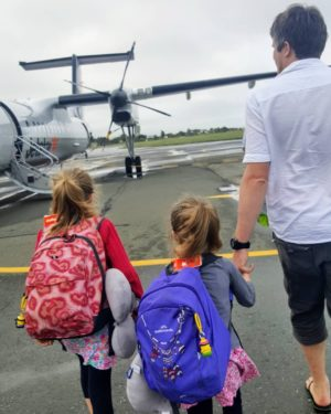 Bibliocook.com - Flying with kids - NZ 2018