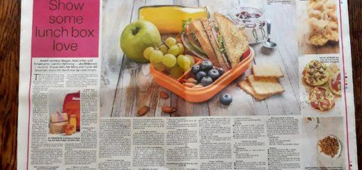 Bibliocook.com - back to school lunchbox feature