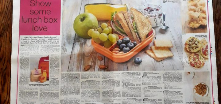 Bibliocook.com - back to school lunchbox feature