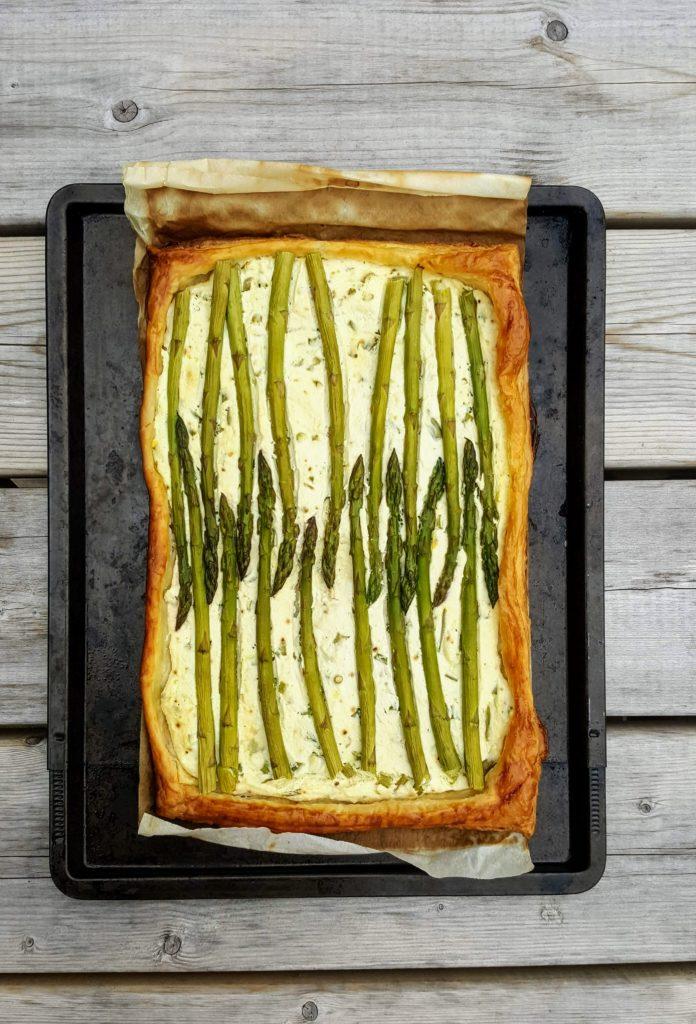 Bibliocook.com - Asparagus and ricotta tart3