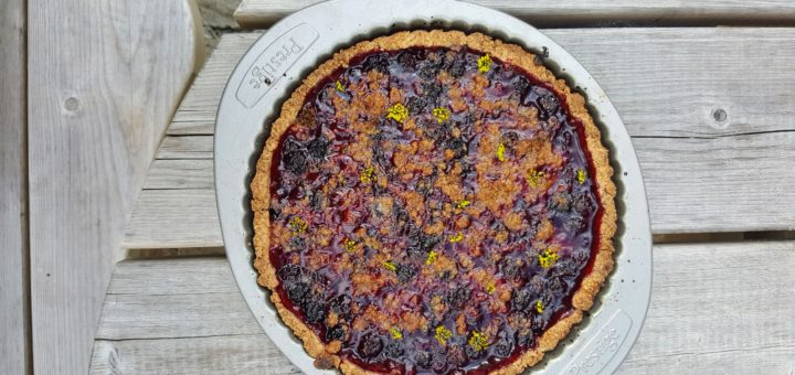 Bibliocook.com - the simplest blackberry tart