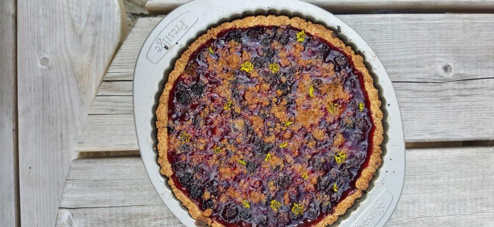 Bibliocook.com - the simplest blackberry tart