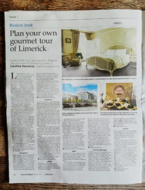 Bibliocook.com - Limerick food in the Irish Examiner