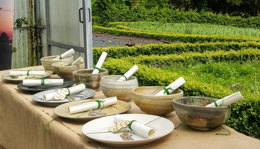 Bibliocook.com - Fermoyle Pottery at Euro Toque Awards 2019