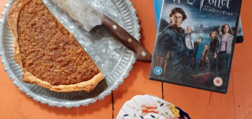 Bibliocook.com - Treacle tart from Harry Potter