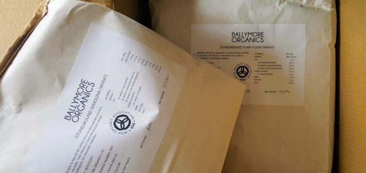 Bibliocook.com - Irish millers - Ballymore Organics semolina and plain flour