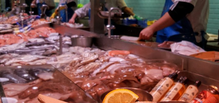 Bibliocook.com - O'Connell's Fishmongers in Cork's English Market