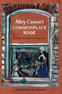 Mary Cannon's Commonplace Book by Marjorie Quarton