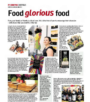 The Irish Times – It's Christmas supplement: Food glorious food p1