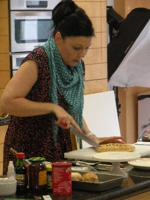 Sharon Hearne-Smith at the Irish food photography workshop