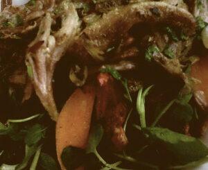 Slow cooked ham salad at Castle Cafe, Blackrock Castle