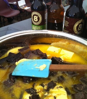 Baking with Eight Degrees Brewing beer: Chocolate and Knockmealdown Porter Brownies
