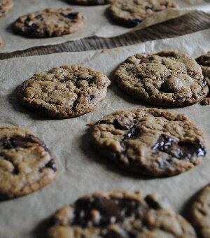 Dark Chocolate and Orange Cookies from Sophie Kooks by Sophie Morris