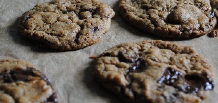 Dark Chocolate and Orange Cookies from Sophie Kooks by Sophie Morris