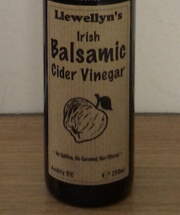 Llewellen's Irish Balsamic Cider Vinegar