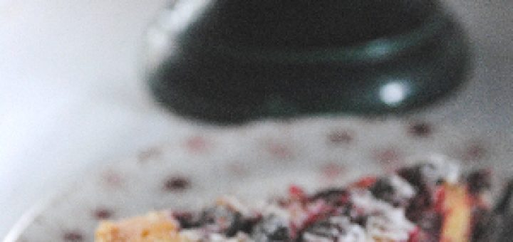 Cranberry, Frangipan and Mincemeat Tart
