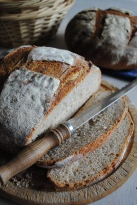 Bibliocook.com - Sourdough bread from starter