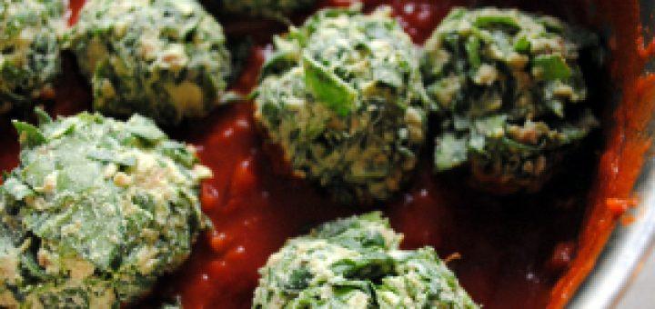 Bibliocook.com - Spinach and Ricotta Balls