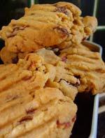 Bibliocook.com - choc chip cranberry cookies