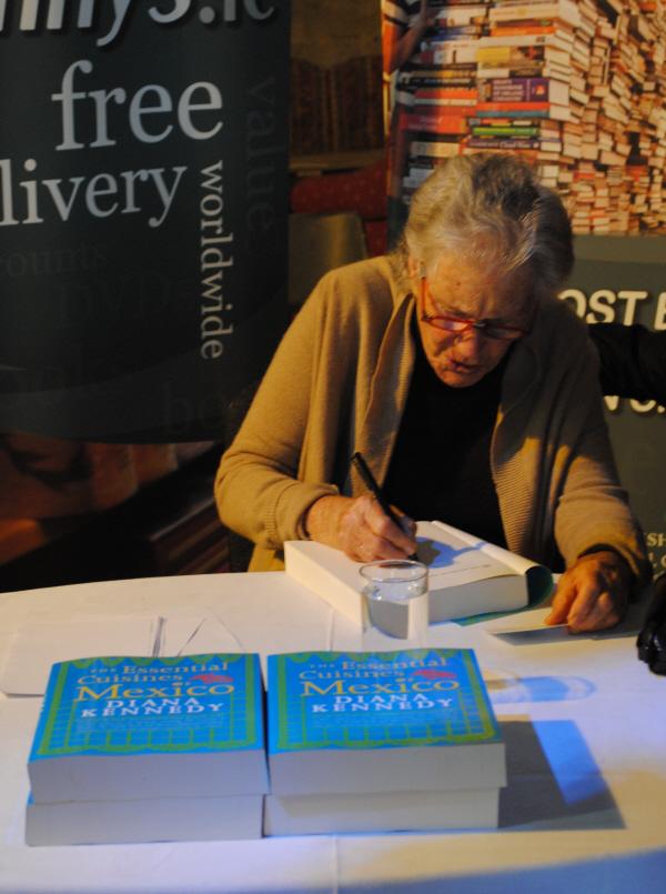 Bibliocook.com - Diana Kennedy at Ballymaloe Litfest 2014