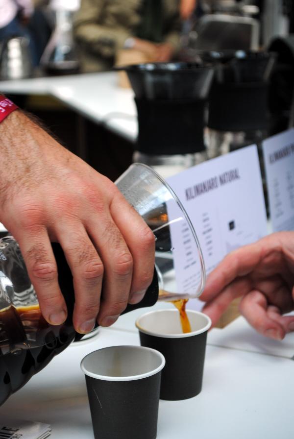 Square Mile Roasters at Dublin Coffee and Tea Festival 2014