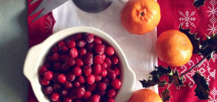 Bibliocook.com - Cranberry and orange sauce