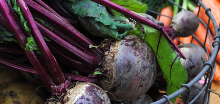 Beetroot, potatoes, carrots from Cork's English Market
